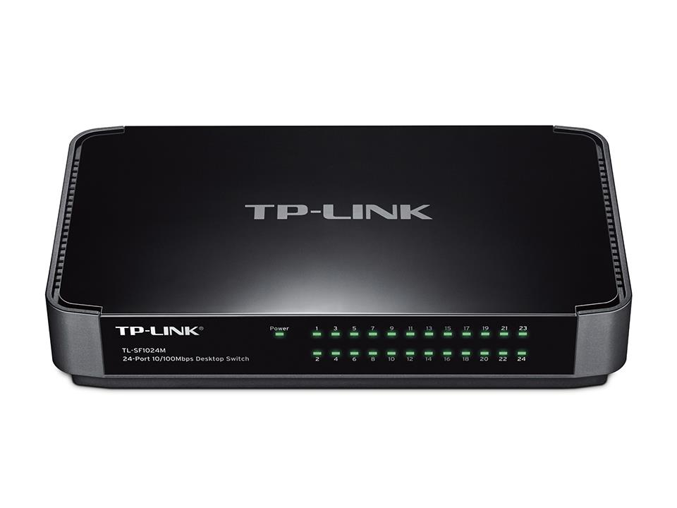 TP-Link 24-Port 10/100Mbps Desktop Switch (TL-SF1024M)