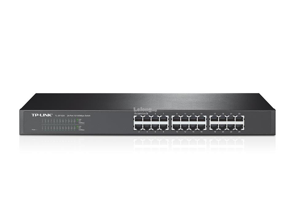 Tp Link 24-Port 10/100Mbps Rackmount Switch TL-SF1024