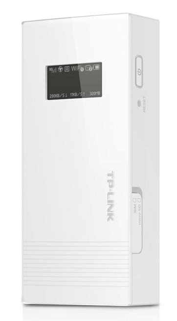 TP-LINK 3G WIFI N 150MBPS BROADBAND ROUTER 5200MAH POWER BANK (M5360)