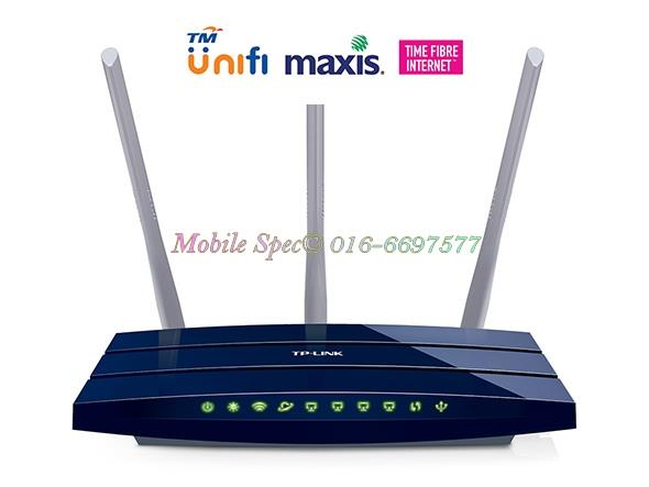 TP-LINK 450Mbps Wireless N Gigabit Unifi Router TL-WR1043ND UNiFi TIME