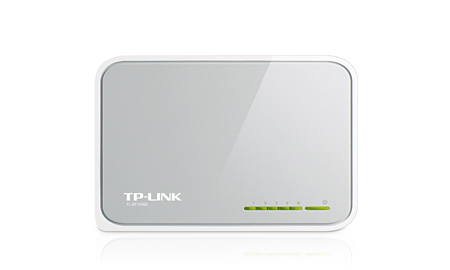 TP-LINK 5-PORT 10/100M STANDARD NETWORK SWITCH (TL-SF1005D)