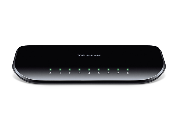 TP-LINK 8-PORT GIGABIT NETWORK SWITCH (TL-SG1008D)