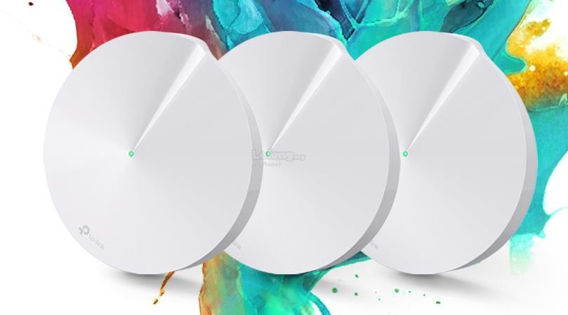 TP-LINK AC1300 DUAL-BAND WHOLE-HOME WI-FI DECO M5 (3 PACK)