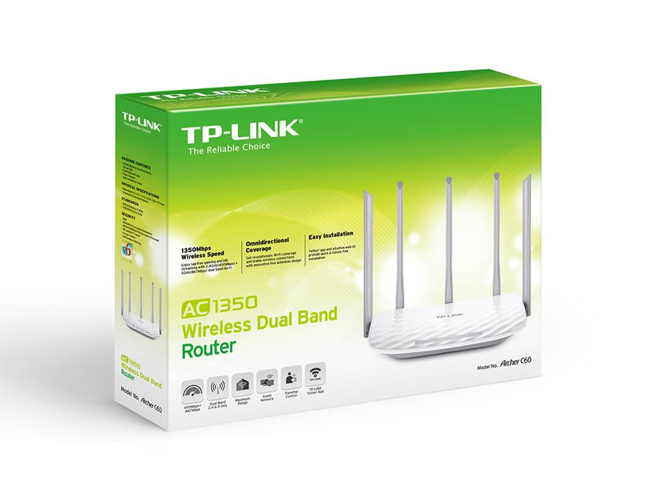 TP-Link AC1350 Wireless Dual Band Router (Maxis/Unifi/Time)