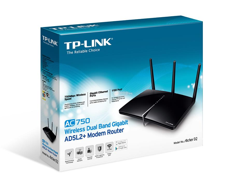 AC750 Wireless Dual Band 4G LTE Router - TP-Link