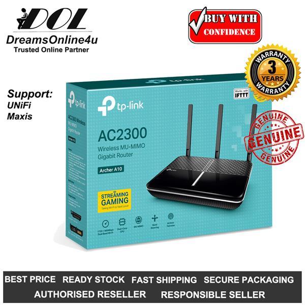 Best Mu Mimo Router 2020 TP LINK Archer A10 AC2600 MU MIMO U (end 5/26/2020 10:15 PM)