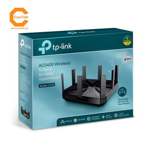 TP-Link Archer C5400 AC5400 Wireless Tri-Band MU-MIMO Gigabit Router