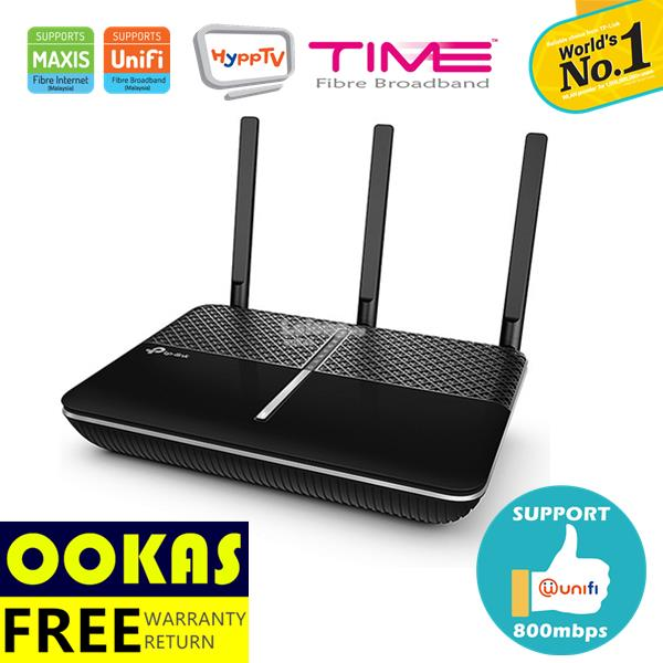TP-LINK C2300 Wave2 MU-MIMO Wireless 5Ghz WiFi Router Unifi Time Fiber