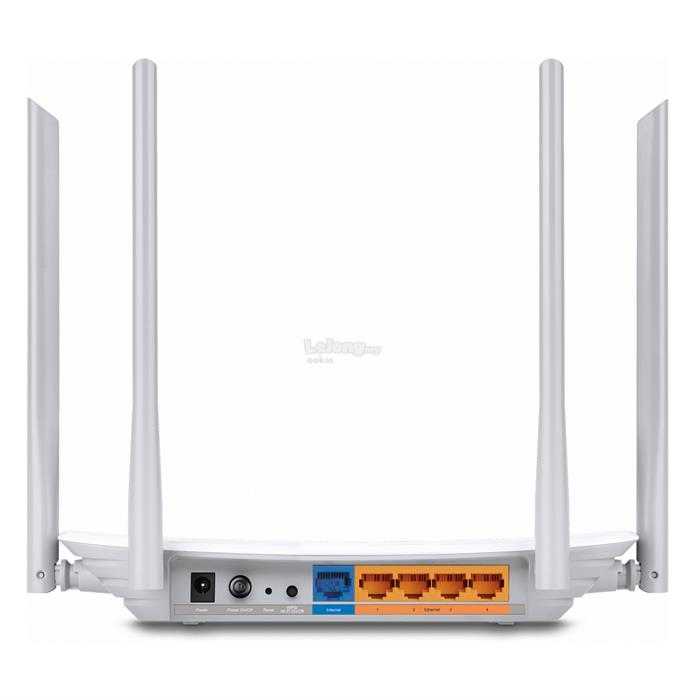TP-LINK C50 AC1200 2.4+5Ghz Dual Band Wireless WiFi Router Unifi