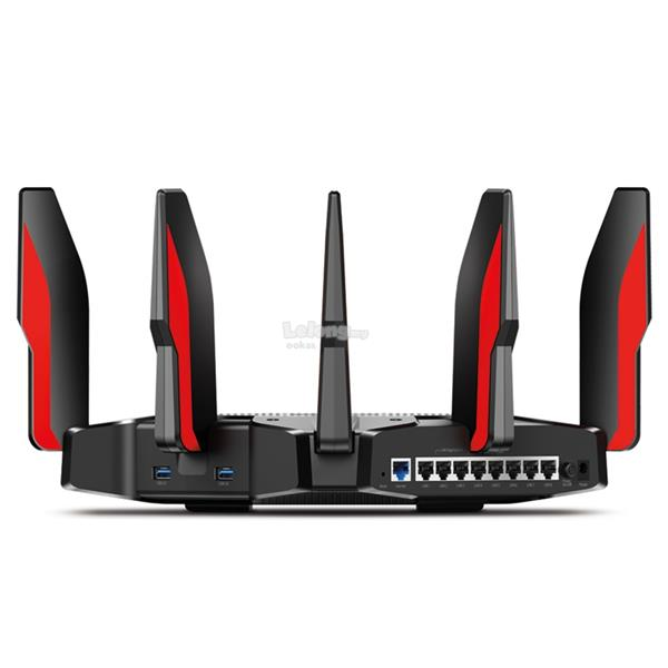 TP-LINK C5400X Wireless WiFi Tri-Band Gigabit AC5400 Gaming Router