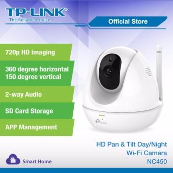 TP-LINK HD Pan / Tilt Cloud Wireless WiFi IP Camera NC450 (CCTV EASY S