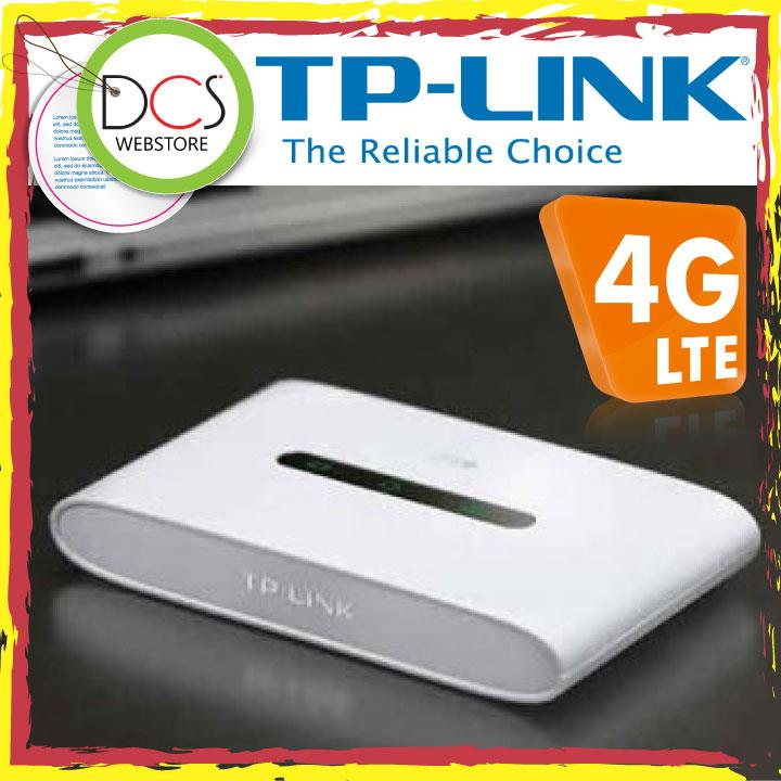 TP-Link M7300 4G LTE-Advanced Mobile Wi-Fi 300Mbps -10 Hours/ MicroSD