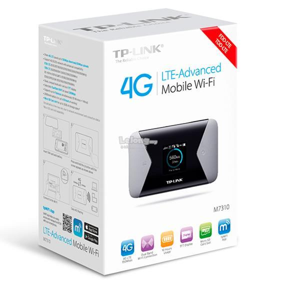 a480032efdd TP-LINK M7310 4G LTE Portable Modem Dual Band WiFi Wireless Router YES. ‹ ›