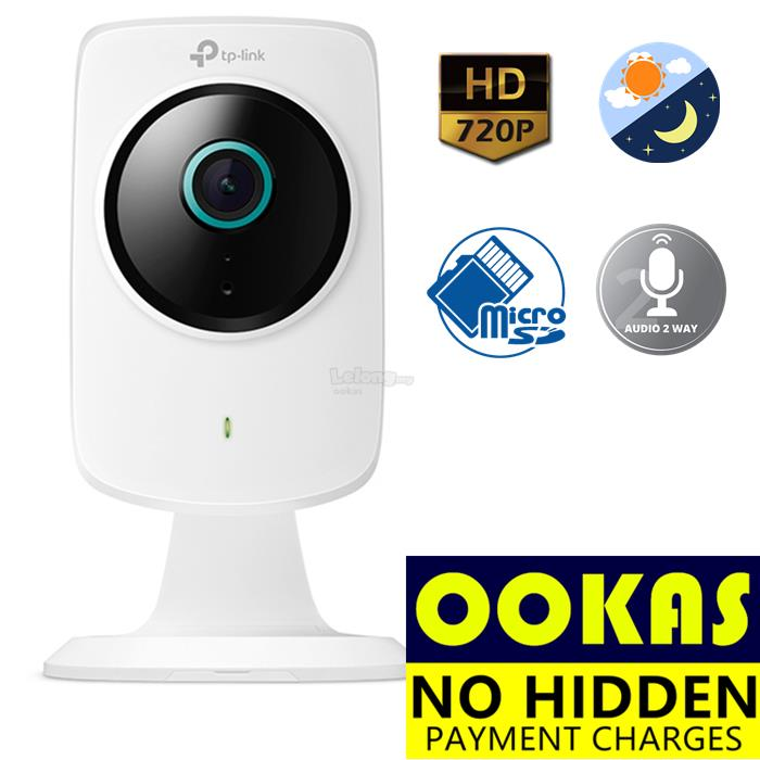 TP-LINK NC260 HD 720P Day+Night Wireless WiFi IP Cloud Camera