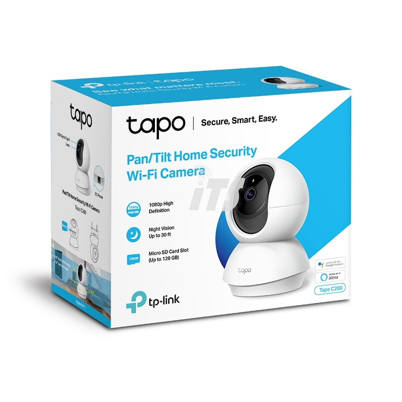 TP-Link pan/tilt home security wi-fi camera (Tapo c200)