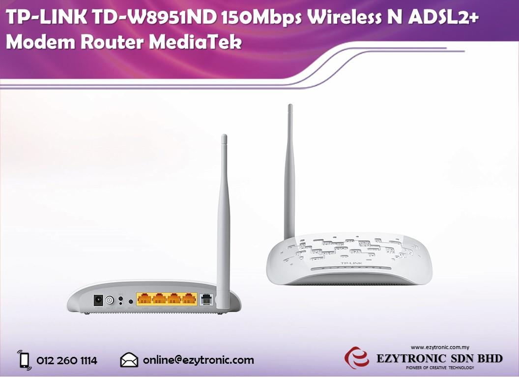 TP-LINK TD-W8951ND 150Mbps Wireless (end 3/6/2018 10:00 AM)