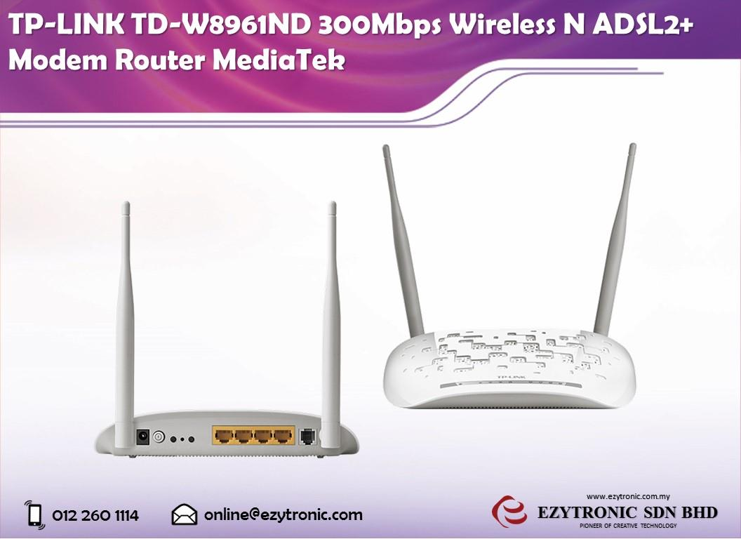 TP-LINK TD-W8961ND 300Mbps Wireless (end 3/6/2018 10:00 AM)