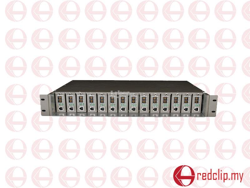 TP-LINK TL-MC1400 14-Slot RackMount Unmanaged Media Converter Chassis