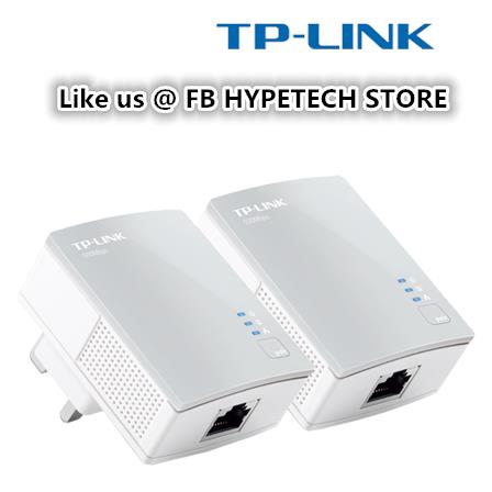 TP-LINK TL-PA4010 Kit AV500 Powerline Adapter w/ AC Pass Through Kit