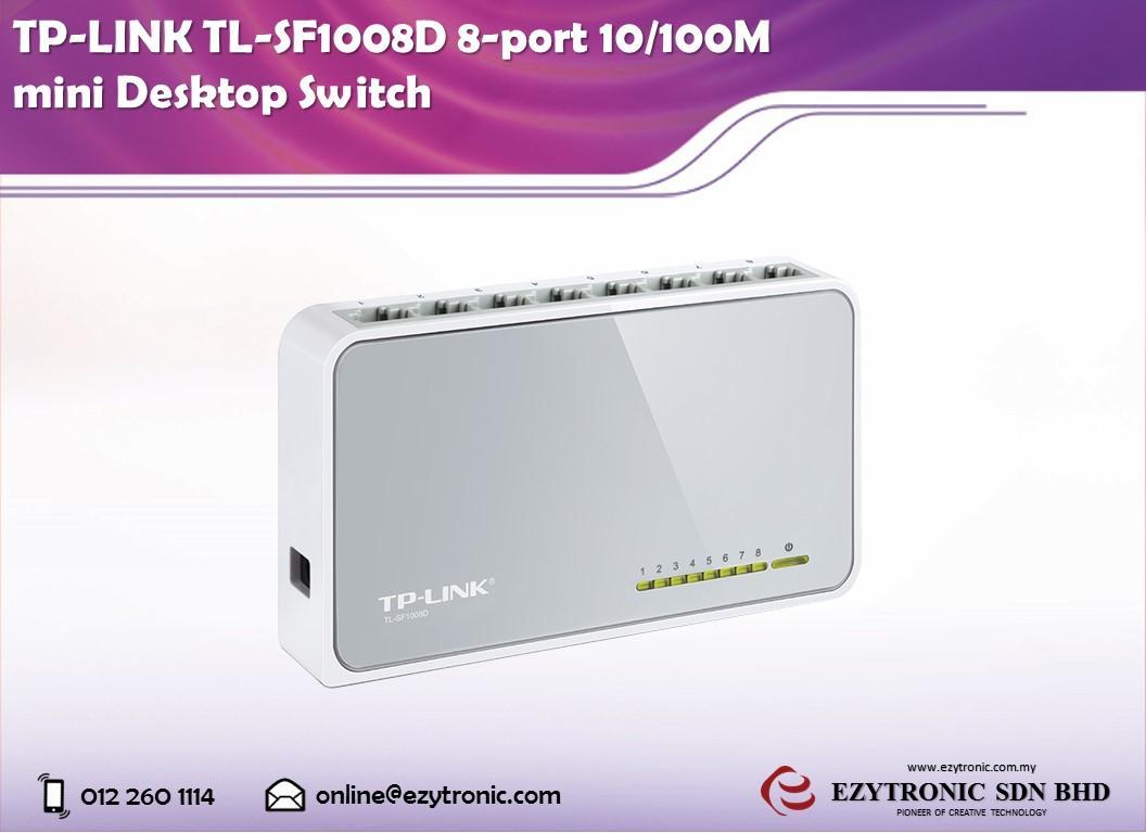 Tp Link Tl Sf1008d 8 Port 10 100m Min End 3 6 2018 948 Am 8port 100mbps Desktop Switch Mini