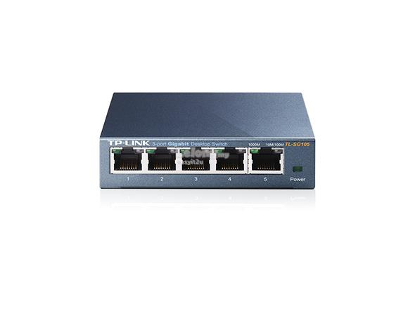 TP-LINK TL-SG105 5-PORT 10/100/1000MBPS DESKTOP SWITCH