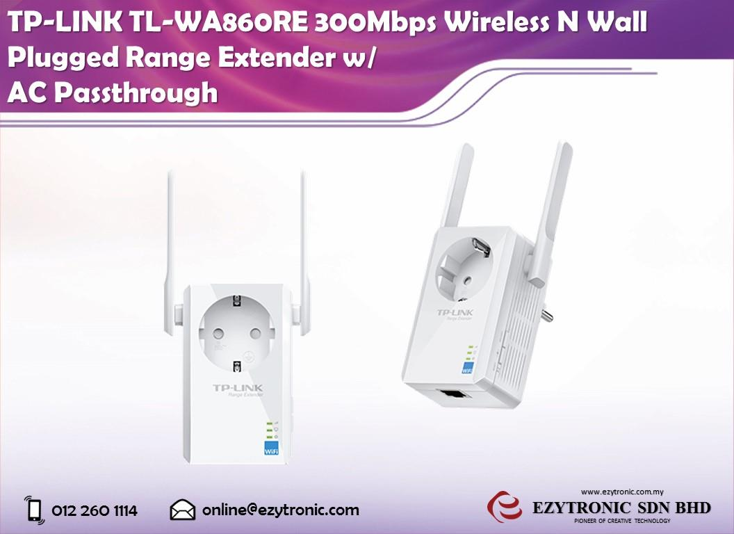 Tp Link Tl Wa860re 300mbps Wireless N End 2 3 2017 215 Pm Wifi Range Extender With Ac Passthrough Wall Plugged