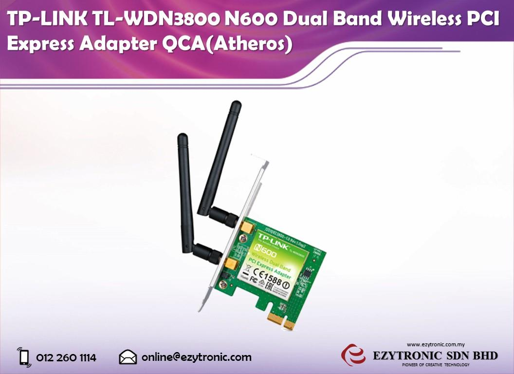 TP-LINK TL-WDN3800 N600 Dual Band Wireless PCI Express Adapter