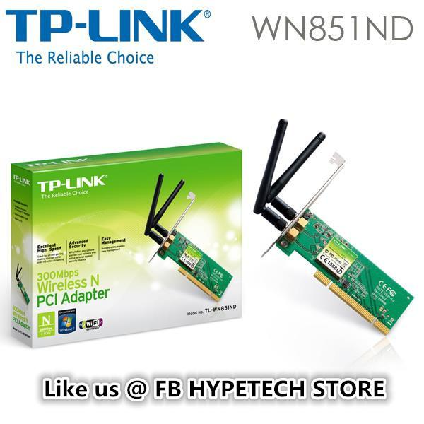 TL-WN851ND DRIVERS FOR WINDOWS