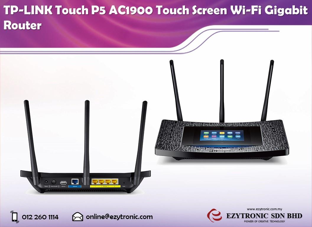 TP-LINK TOUCH P5 ROUTER DRIVER (2019)