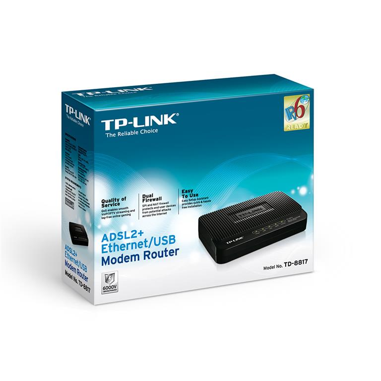 TP-LINK WIRED 1-PORT+ 1 USB ADSL MOD (end 9/2/2016 11:15 AM)