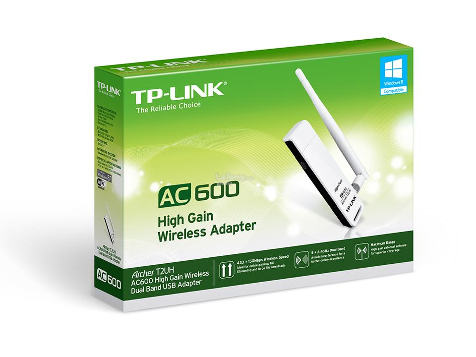 TP LINK WIRELESS AC DUAL BAND USB ADAPTER (2.4GHz & 5GHz)
