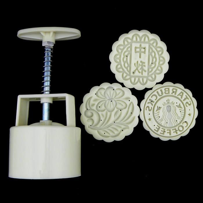 Tradisional Moon Cake Mould 4 Head 125g 26376