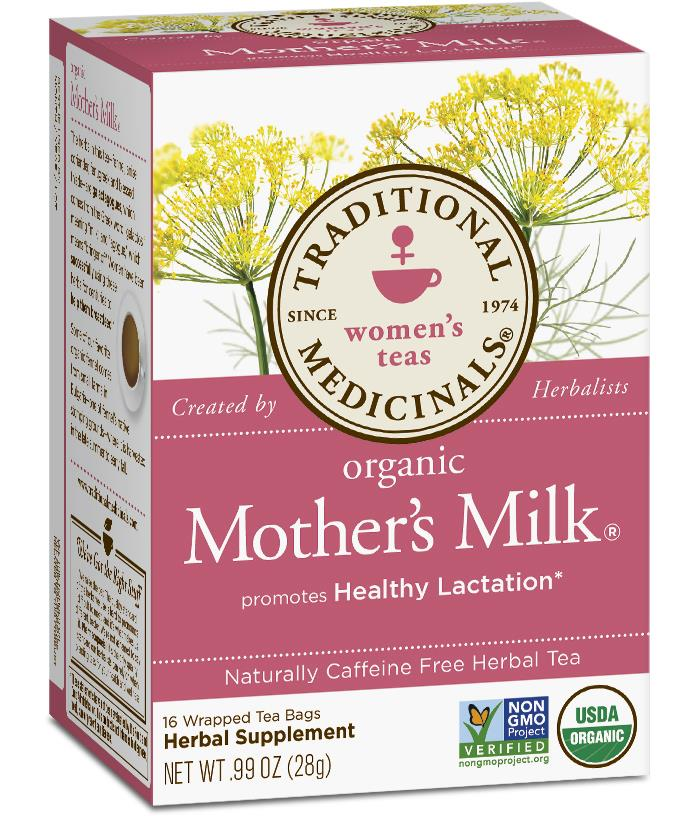Traditional Medicinals,Organic Mother's Milk, increase milk supply tea