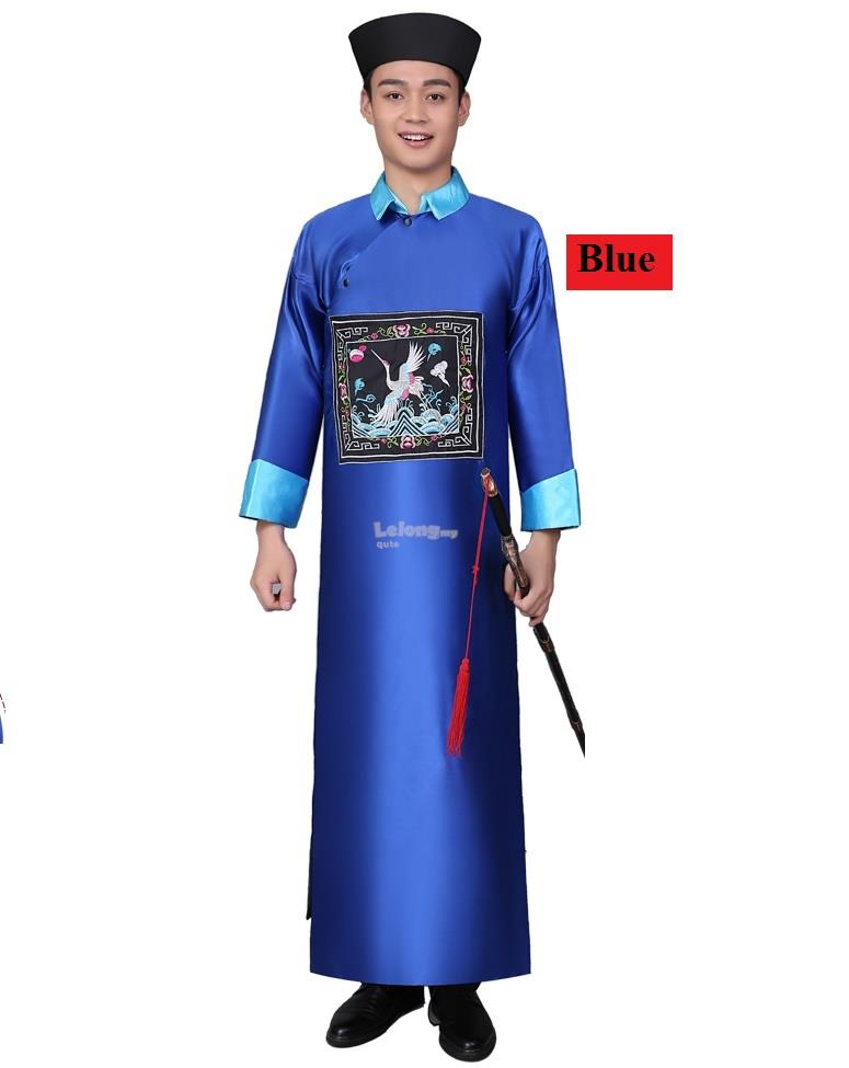 Traditional Qing Cheongsam for men