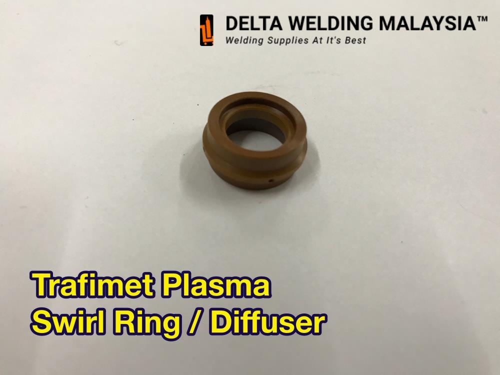 TRAFIMET Swirl ring for Plasma Cutter machine Malaysia