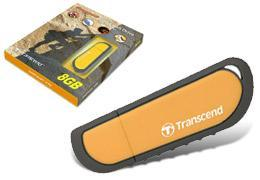 Transcend Anti shock 8GB JetFlash V70 Flash Drive Thumbdrive pendrive