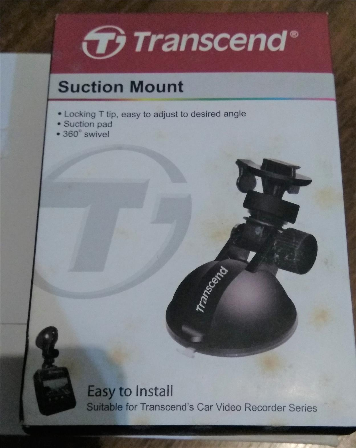 Transcend Car DVR Recorder Suction Mount TS-DPM1.