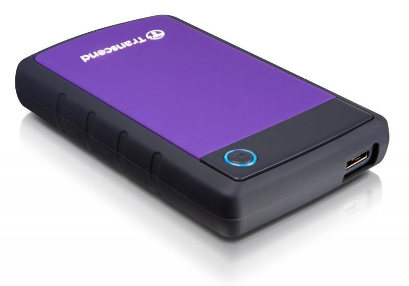 Transcend StoreJet 25H3 500GB 1TB USB3.0 Portable External HDD