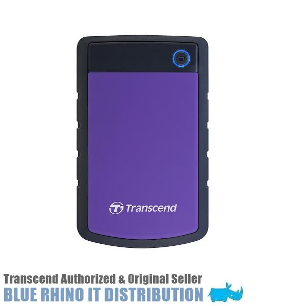Transcend StoreJet 25H3 USB 3.1 4TB Portable HDD (Purple)