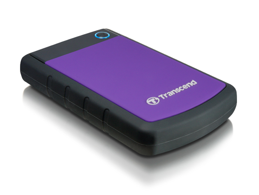 TRANSCEND STOREJET 2TB 2.5' USB3.0 PORTABLE HDD (TS2TSJ25H3P) PURPLE