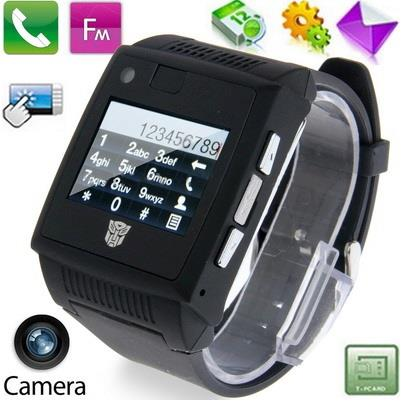 Transformer-Quad Band Touchscreen Mobile Phone Watch (WP-H2).