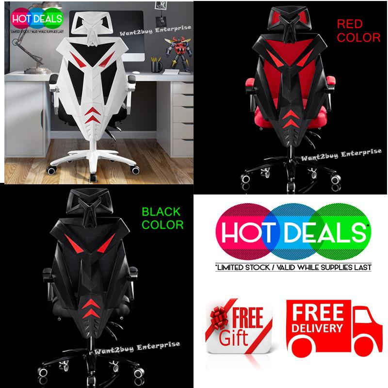Awesome Transformers Ergonomic Adjustable Racing Gaming Office Chair 3 Color Squirreltailoven Fun Painted Chair Ideas Images Squirreltailovenorg
