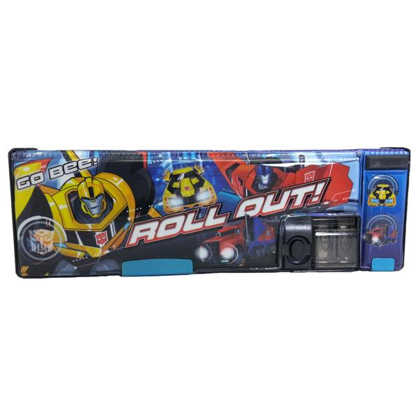 TRANSFORMERS MISSION COMPLETE MAGNETIC PENCIL CASE