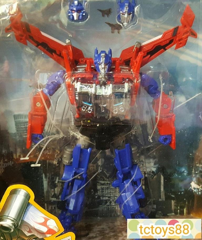 Transformers robot. Optimus Luxury Upgrade Action Figure. 16pcs. Offer