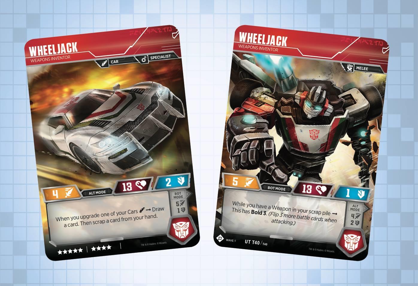 Transformers TCG Wheeljack // Weapons Inventor UT T40
