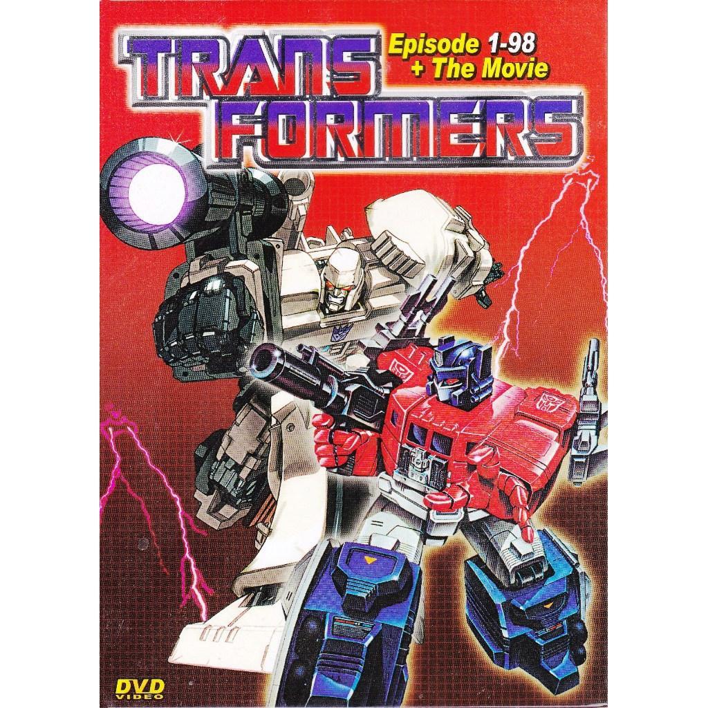 TRANSFORMERS Vol 1-98End Season 1-4 + Movie Anime DVD
