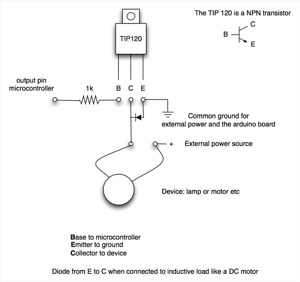 Transistor TIP 120 (NPN) (end 2/8/2019 3:15 PM)