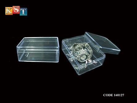TRANSPARENT PS BOX FOR JEWELRY,MEDICINE,EARRING AND OTHERS