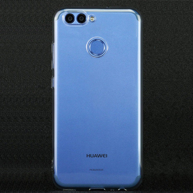 finest selection 8c4fd 2037b Transparent TPU Soft Cover Phone Case For Huawei Nova 2 / Nova 2 plus Back  Cov