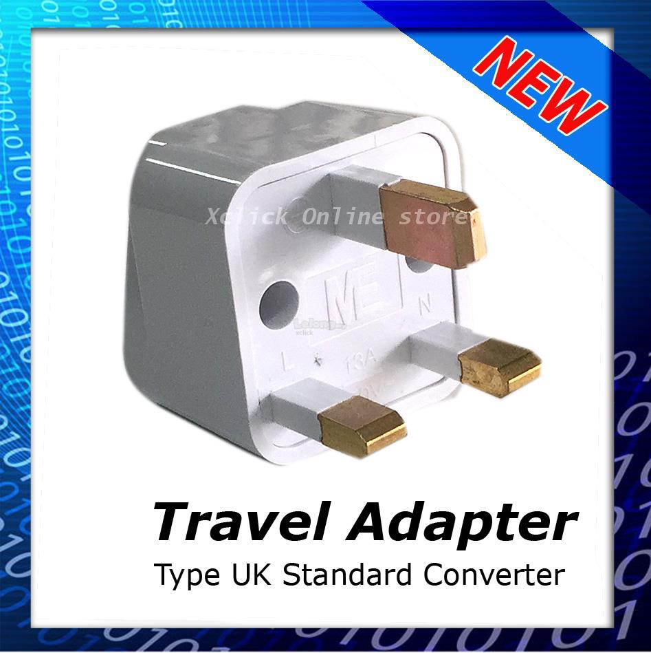 Travel Adapter- Universal UK 3 Pin Plug